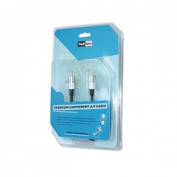 Gold 5M Hq Premium  S-Video Plug To Rca M blister pack